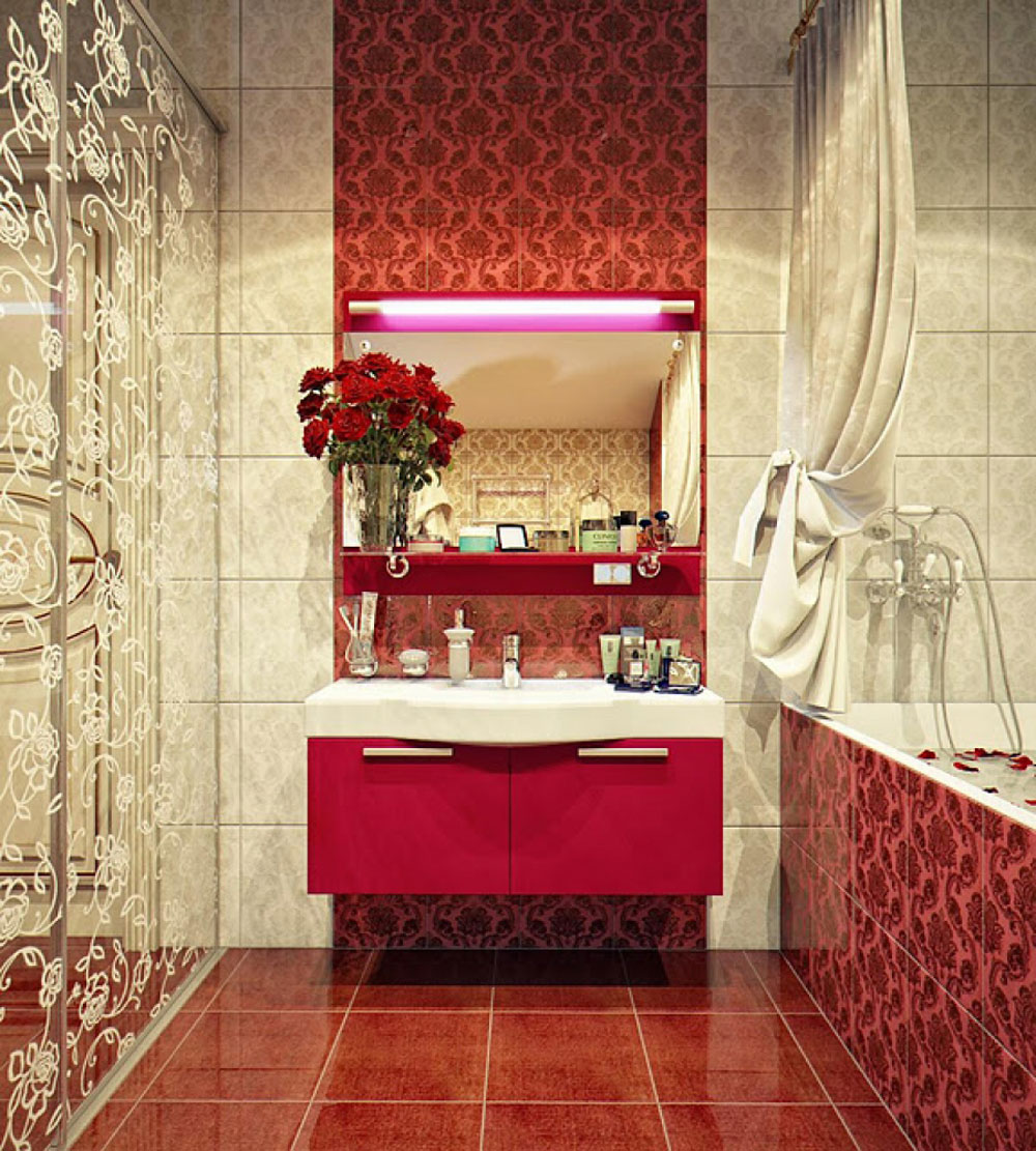 Add-warmth-to-your-house-with-ideas-of-these-red-bathroom-interiors-3, add-warmth-to-your-house-with-ideas-of-these-red-bathroom-interiors