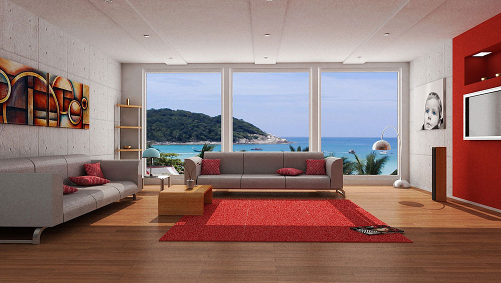 A-Showcase-Of-Modern-Interior-Decorating-Ideen-für-Wohnen-9 A showcase of modern interior decorating ideas for living rooms