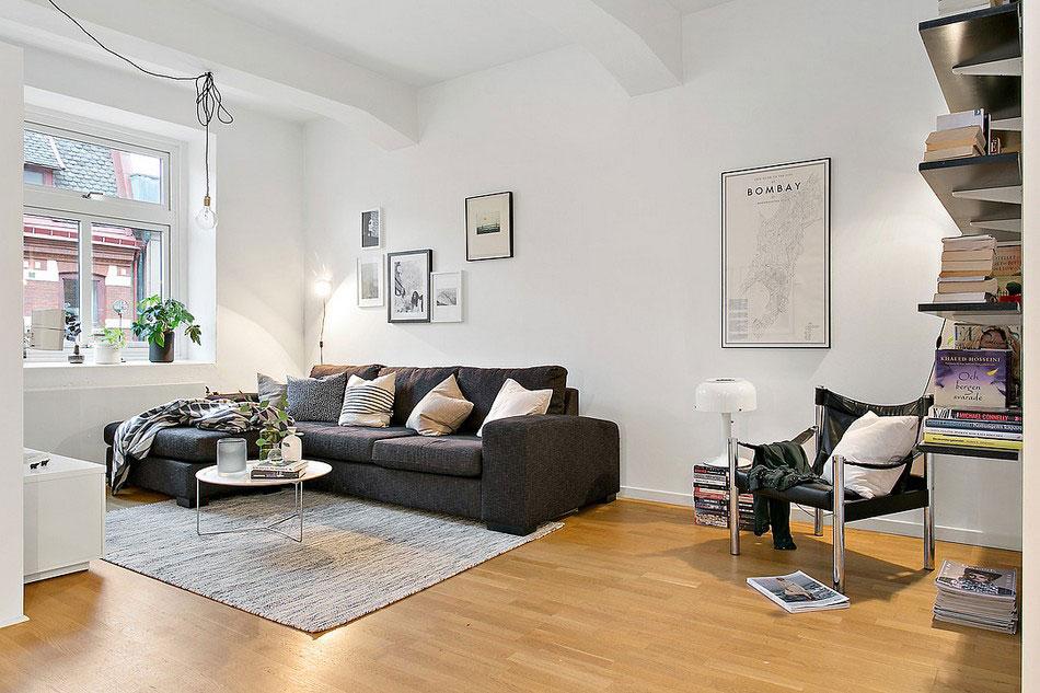 Cozy apartment in Gothenburg that presents a beautiful Scandinavian design 4 Cozy apartment in Gothenburg presents a beautiful Scandinavian design