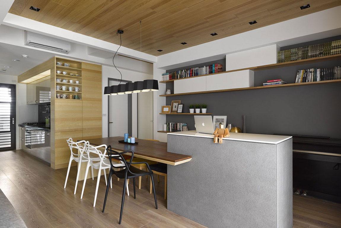 Wooden house-interior-by-HOYA-Design-6 Wooden house-interior by HOYA Design