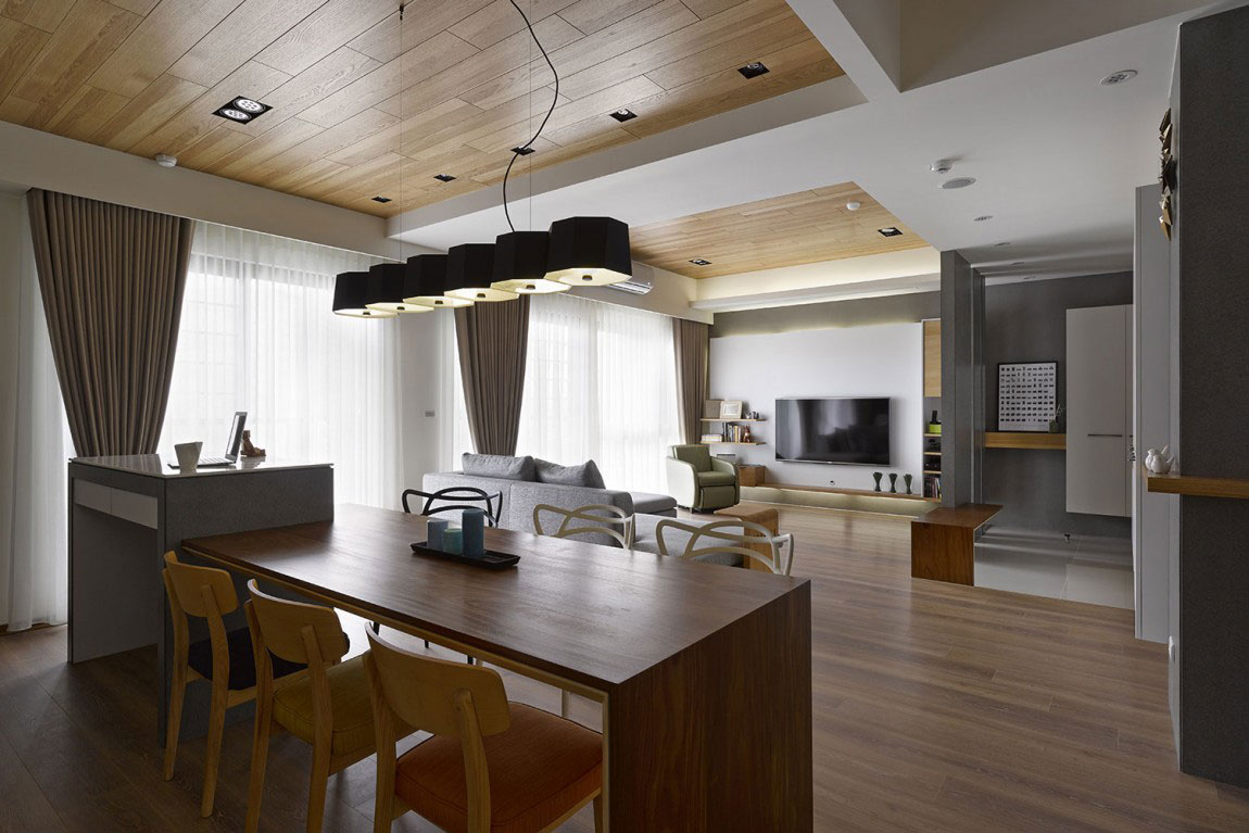 Wooden house-interior-by-HOYA-Design-9 Wooden house-interior by HOYA Design
