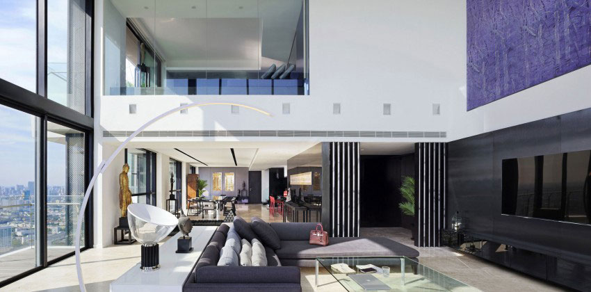 The luxurious PANO penthouse design by Ayutt-And-Associates-2 The luxurious PANO penthouse by Ayutt And Associates