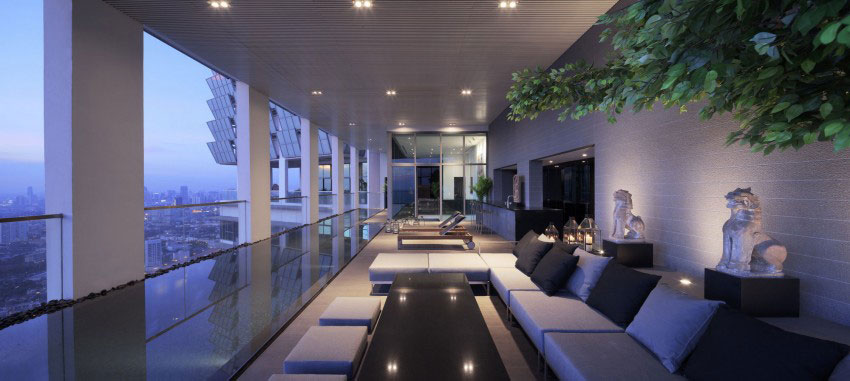 The luxurious PANO penthouse design by Ayutt-And-Associates-16 The luxurious PANO penthouse by Ayutt And Associates