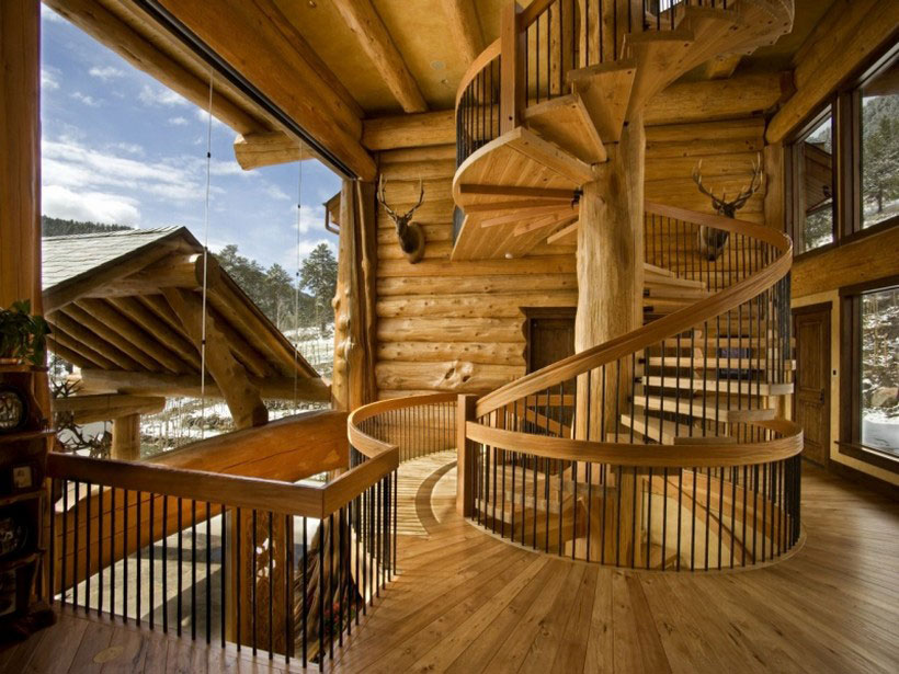 A-Cozy-and-natural-log-house-Designed-by-Kathy-Scott-71 A cozy and natural log-house