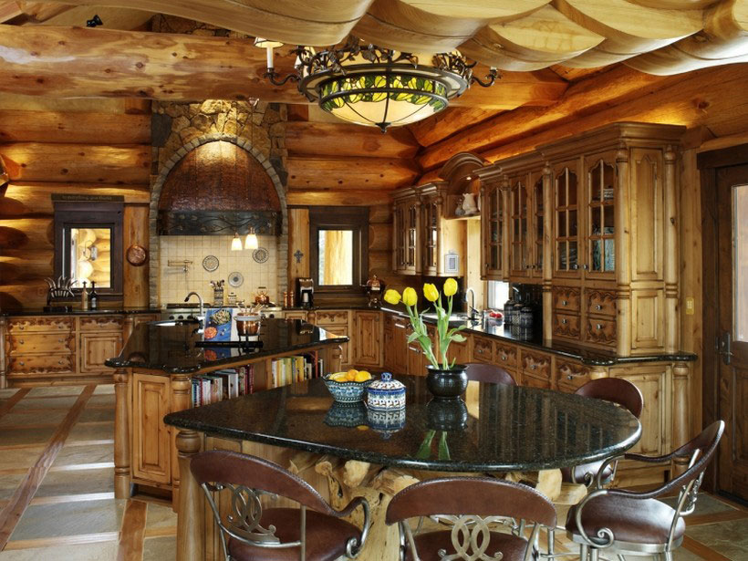 A-Cozy-and-natural-log-house-designed-by-Kathy-Scott-101 A cozy and natural log-house