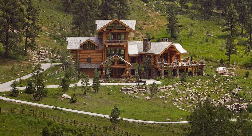 A-Cozy-and-natural-log-house-Designed-by-Kathy-Scott-41 A cozy and natural log-house