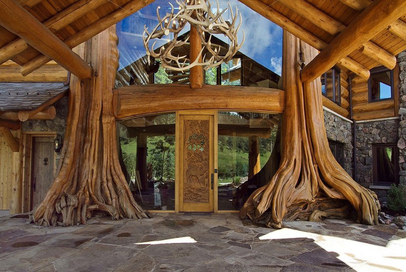 A-Cozy-and-natural-log-house-designed-by-Kathy-Scott-121 A cozy and natural log-house
