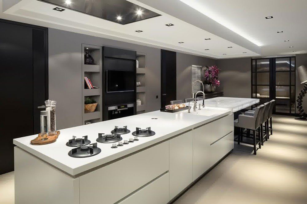 Sympathetic kitchen and dining room combinations-1 Sympathetic kitchen and dining room combinations