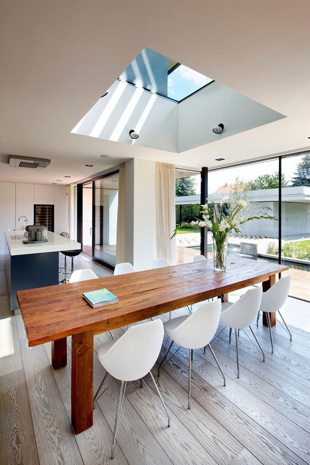 Sympathetic kitchen and dining room combinations-11 Sympathetic kitchen and dining room combinations