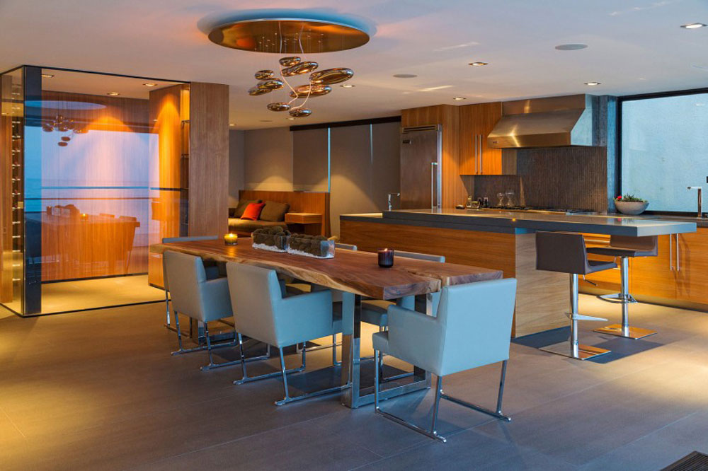 Sympathetic kitchen and dining room combinations-8 Sympathetic kitchen and dining room combinations