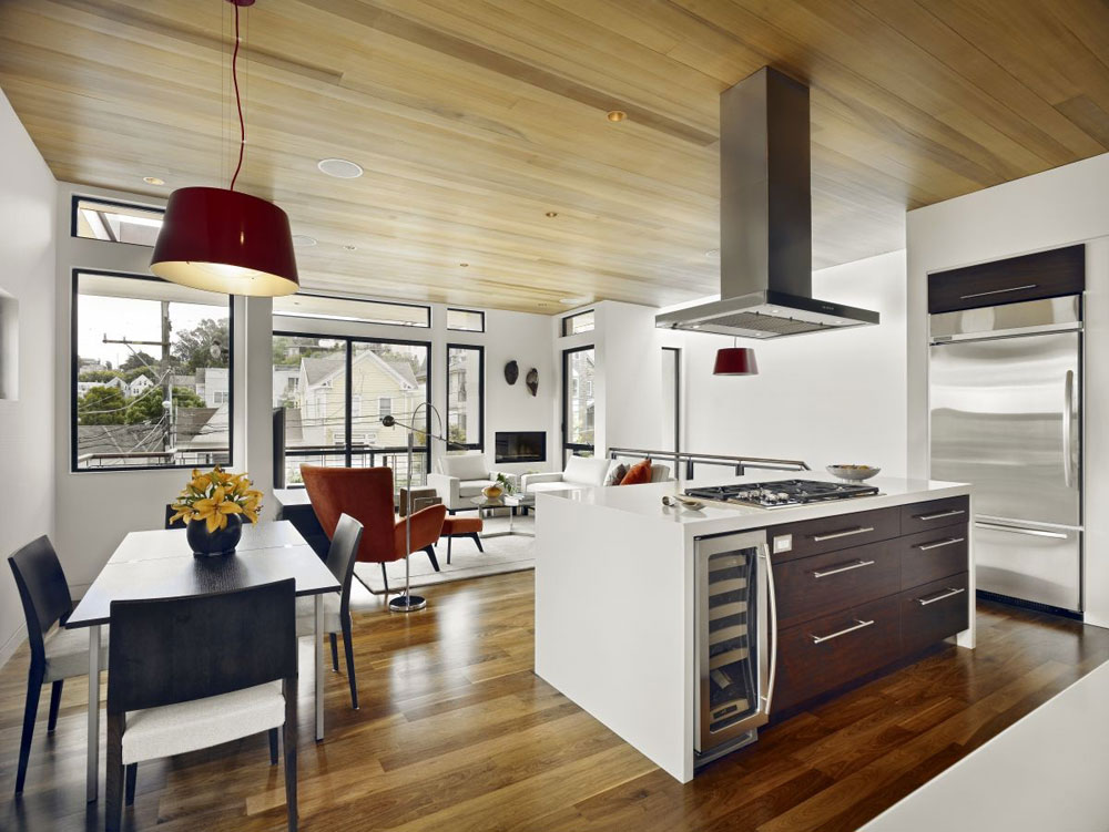 Sympathetic kitchen and dining room combinations-7 Sympathetic kitchen and dining room combinations
