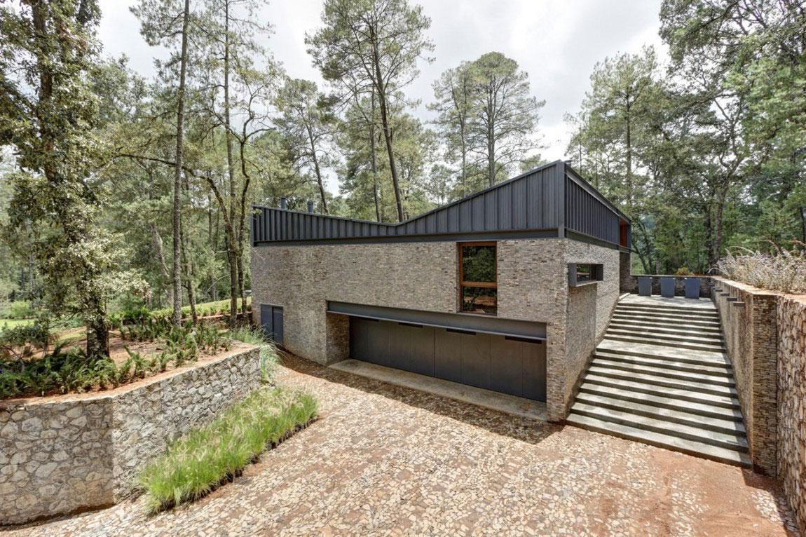 Beautiful-Casa-MM-with-a-contemporary-design-created by-Elias-Rizo-Arquitectos-2 Beautiful Casa-MM with a contemporary design created by Elias Rizo Arquitectos