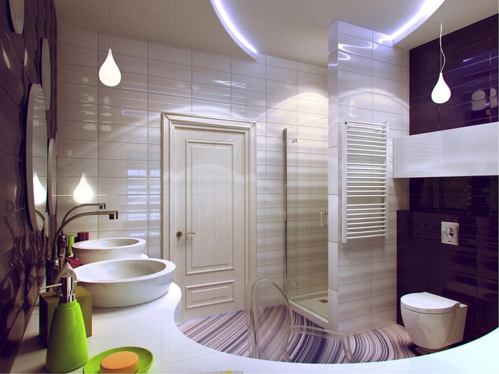 Nice ideas for decorating a bathroom 2 Nice ideas for decorating a bathroom