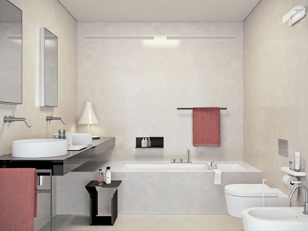 Creating a White Bathroom Interior Design 6 Creating a White Bathroom Interior Design