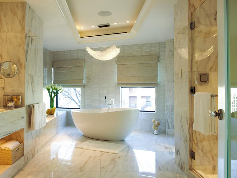 Creating a White Bathroom Interior Design 3 Creating a White Bathroom Interior Design