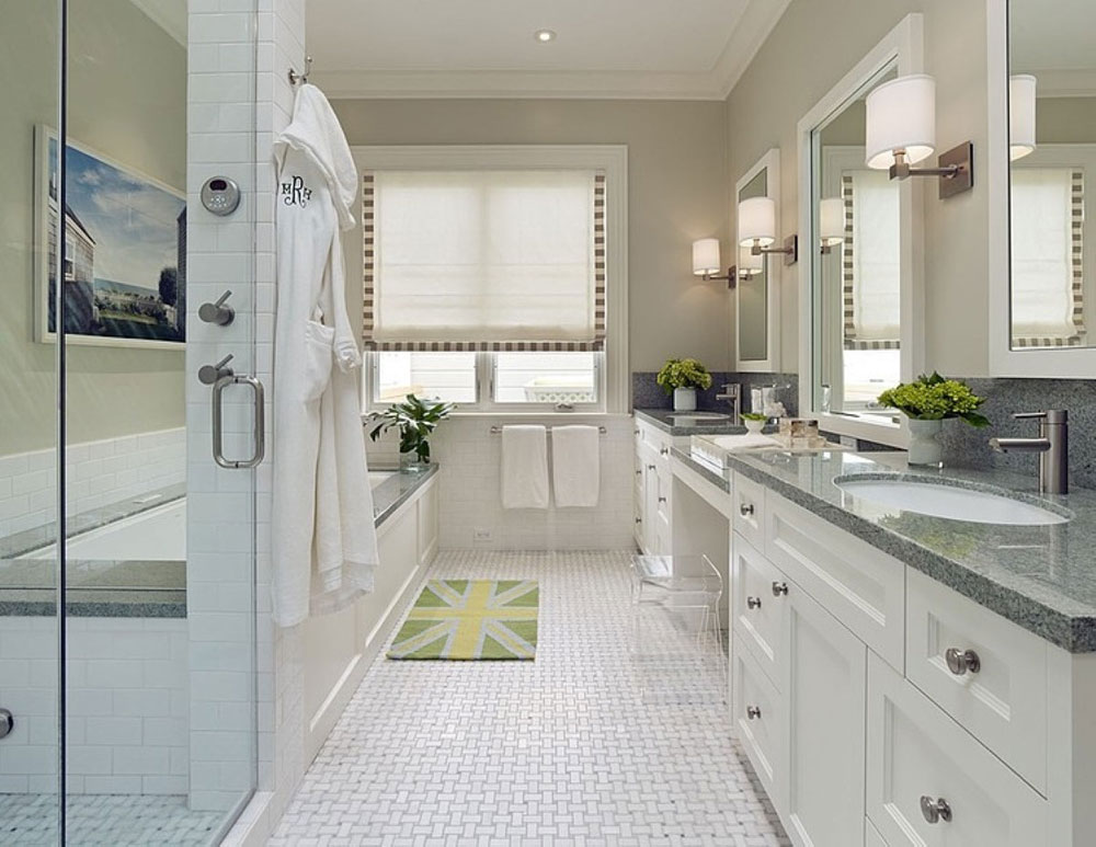 Creating a White Bathroom Interior Design 10 Creating a White Bathroom Interior Design