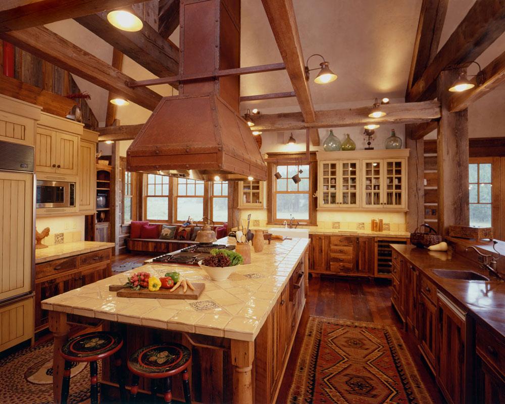 Warm-cozy-and-inviting-rustic-kitchen-interior-31 Warm, cozy and inviting rustic-kitchen interior