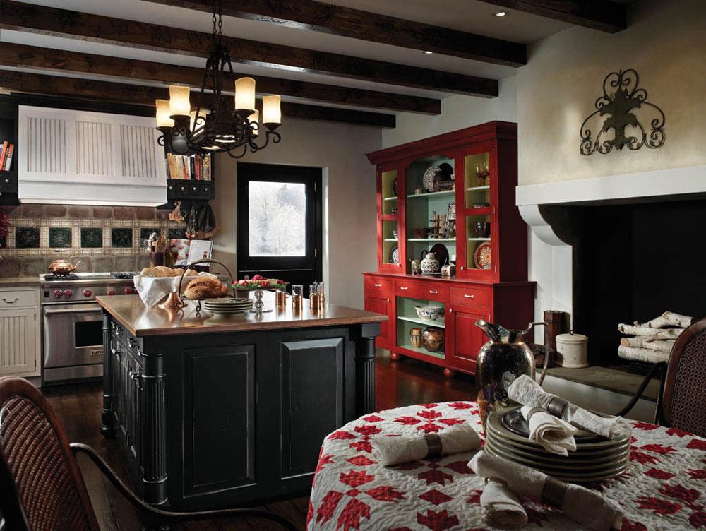 Warm-cozy-and-inviting-rustic-kitchen-interior-51 Warm, cozy and inviting rustic-kitchen interior