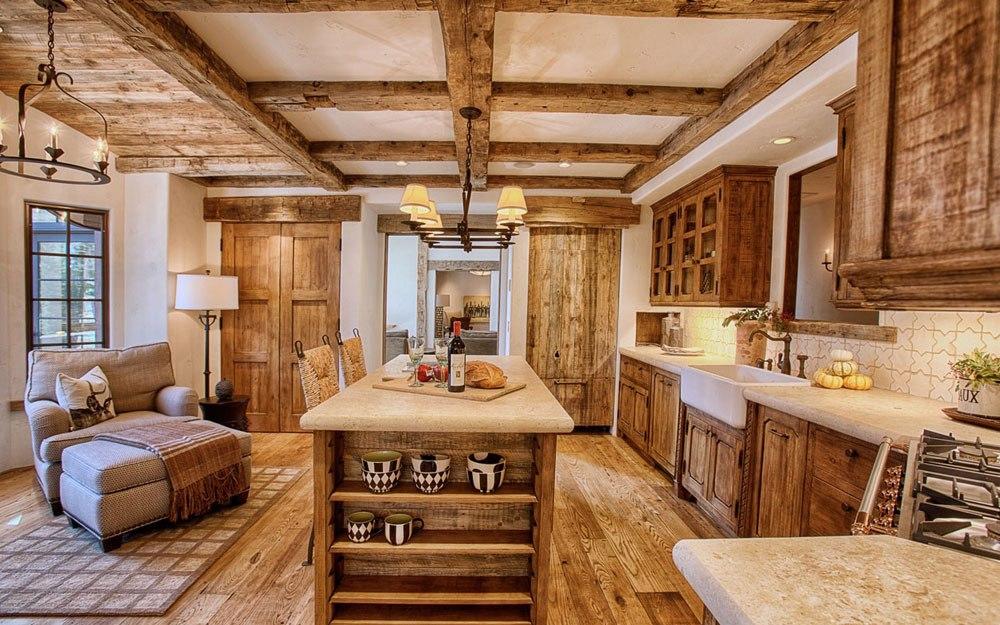 Warm-cozy-and inviting-rustic-kitchen-interior-41 Warm, cozy and inviting rustic kitchen kitchen interior