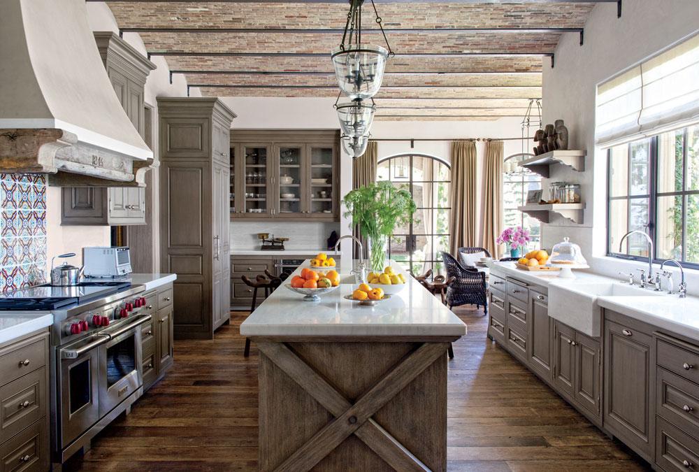 Warm-cozy-and-inviting-rustic-kitchen-interior-81 Warm, cozy and inviting rustic-kitchen interior
