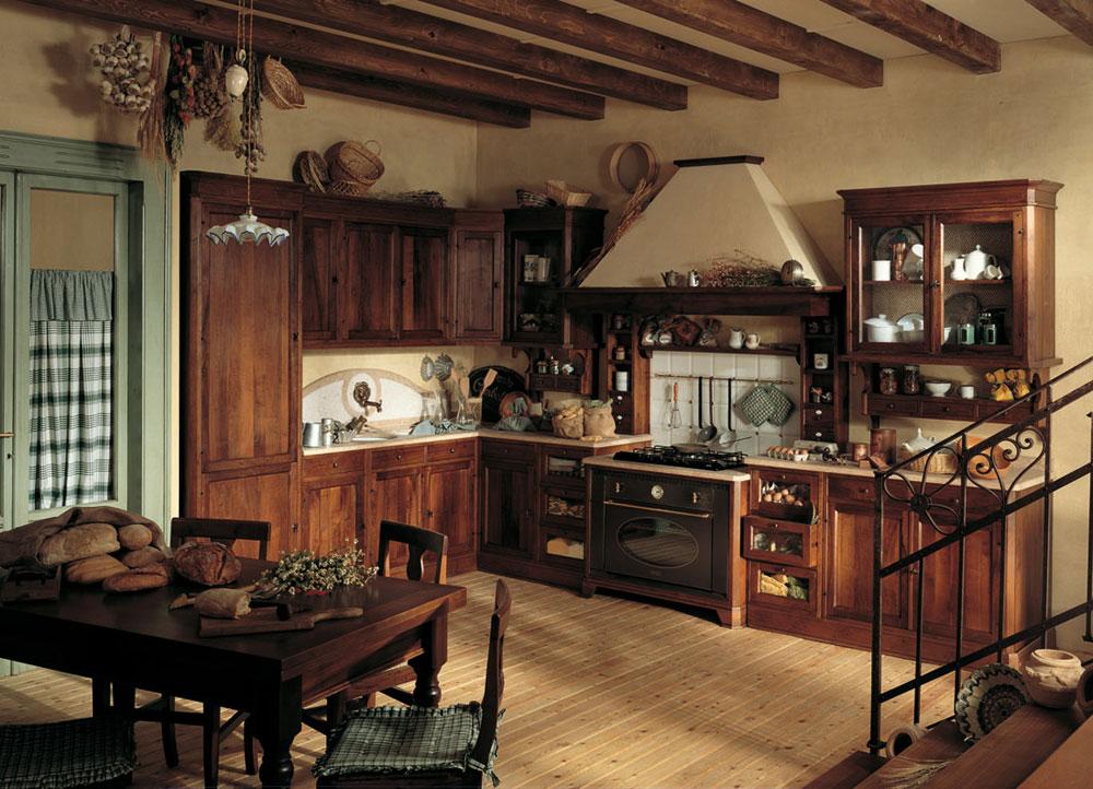 Warm-cozy-and-inviting-rustic-kitchen-interior-61 Warm, cozy and inviting rustic-kitchen interior
