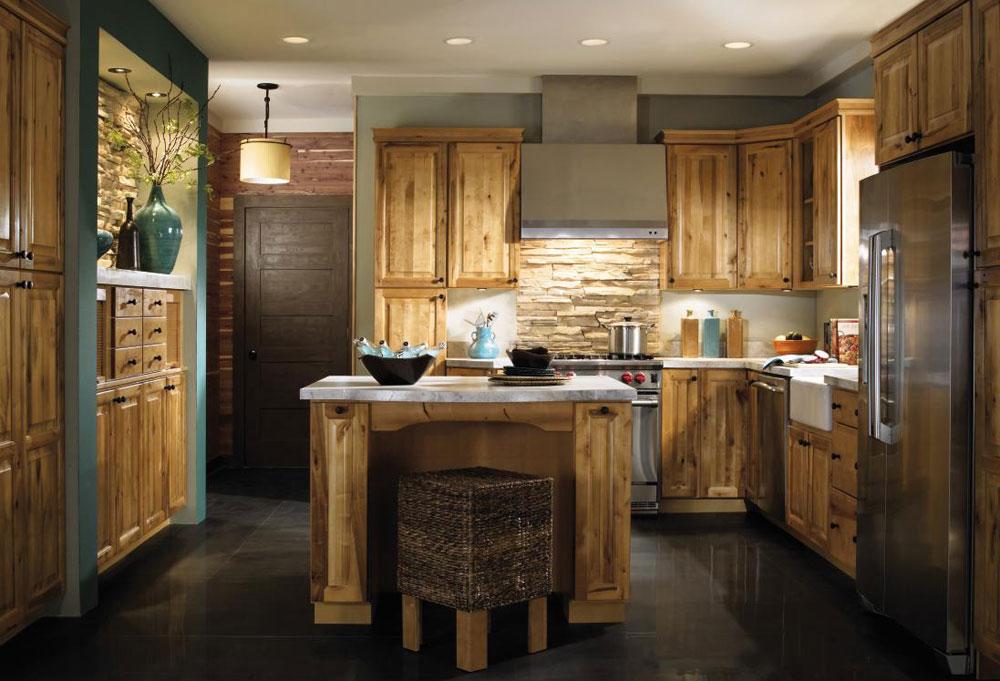 Warm-cozy-and-inviting-rustic-kitchen-interior-91 Warm, cozy and inviting rustic-kitchen interior