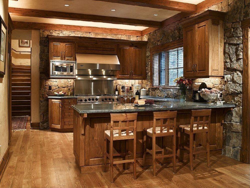 Warm-cozy-inviting-rustic-kitchen-interior-101 Warm, cozy and inviting rustic kitchen-interior