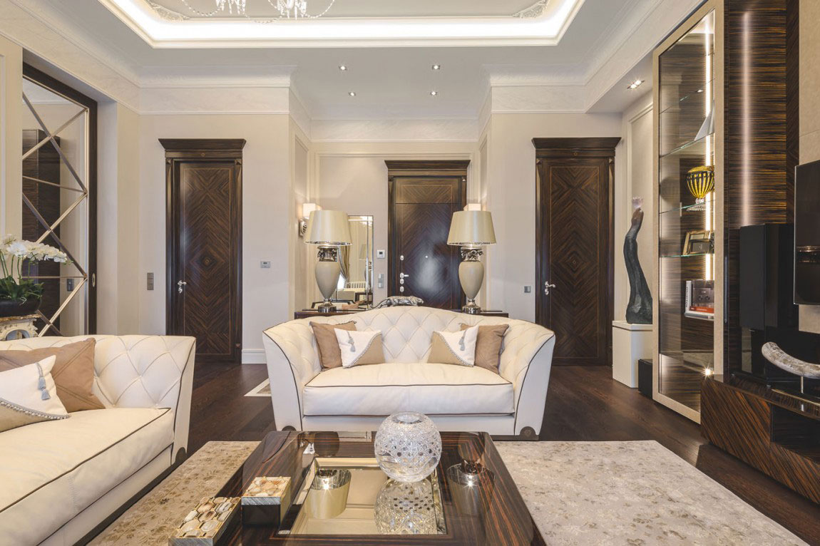 Chic Apartment Interior Design Created by NG Studio 3 Chic Apartment Interior Design Created by NG Studio