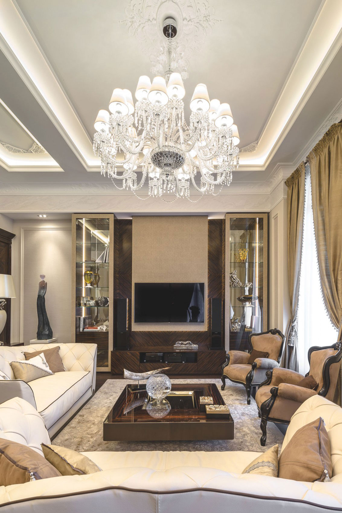 Chic Apartment Interior Design Created by NG Studio 5 Chic Apartment Interior Design Created by NG Studio