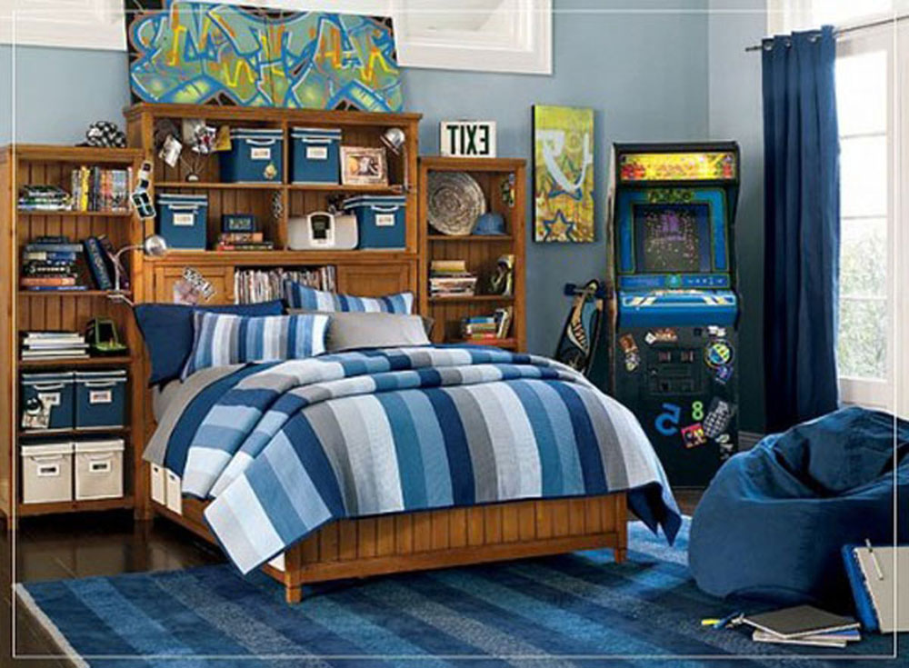 Decorating a teenage boy's room should be easy with this type of inspiration 9 Decorating a teenage room should be easy with this type of inspiration