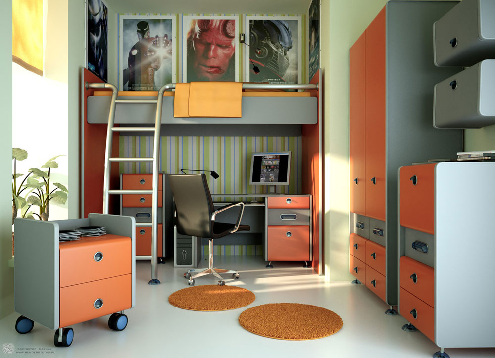 Decorating a teenage room should be easy with this type of inspiration 11 Decorating a teenage room should be easy with this type of inspiration
