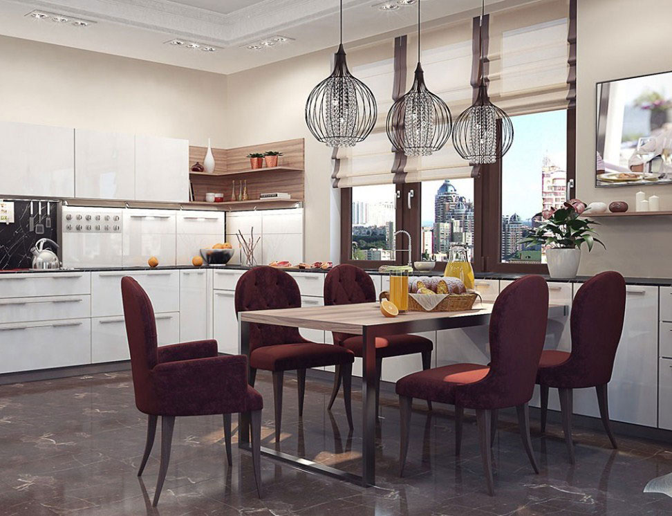 An apartment in Kiev that is an elegant setting of artistic style 5 An apartment in Kiev that is an elegant setting of artistic style