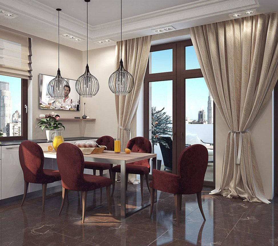 An apartment in Kiev that is an elegant arena of artistic style 6 An apartment in Kiev that is an elegant arena of artistic style