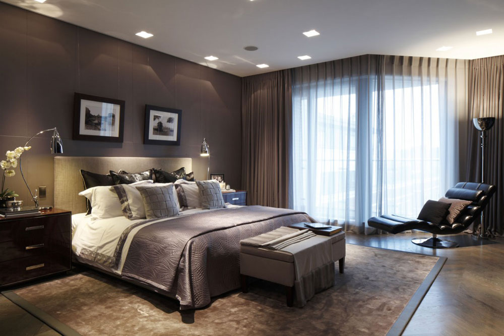 Modern and stylish bedrooms designed by interior designers-4 Modern and stylish bedrooms designed by interior designers