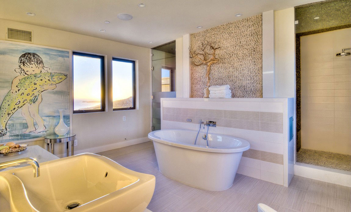 Stunning Beach House In Malibu Beach California 18 Stunning Beach House In Malibu Beach California