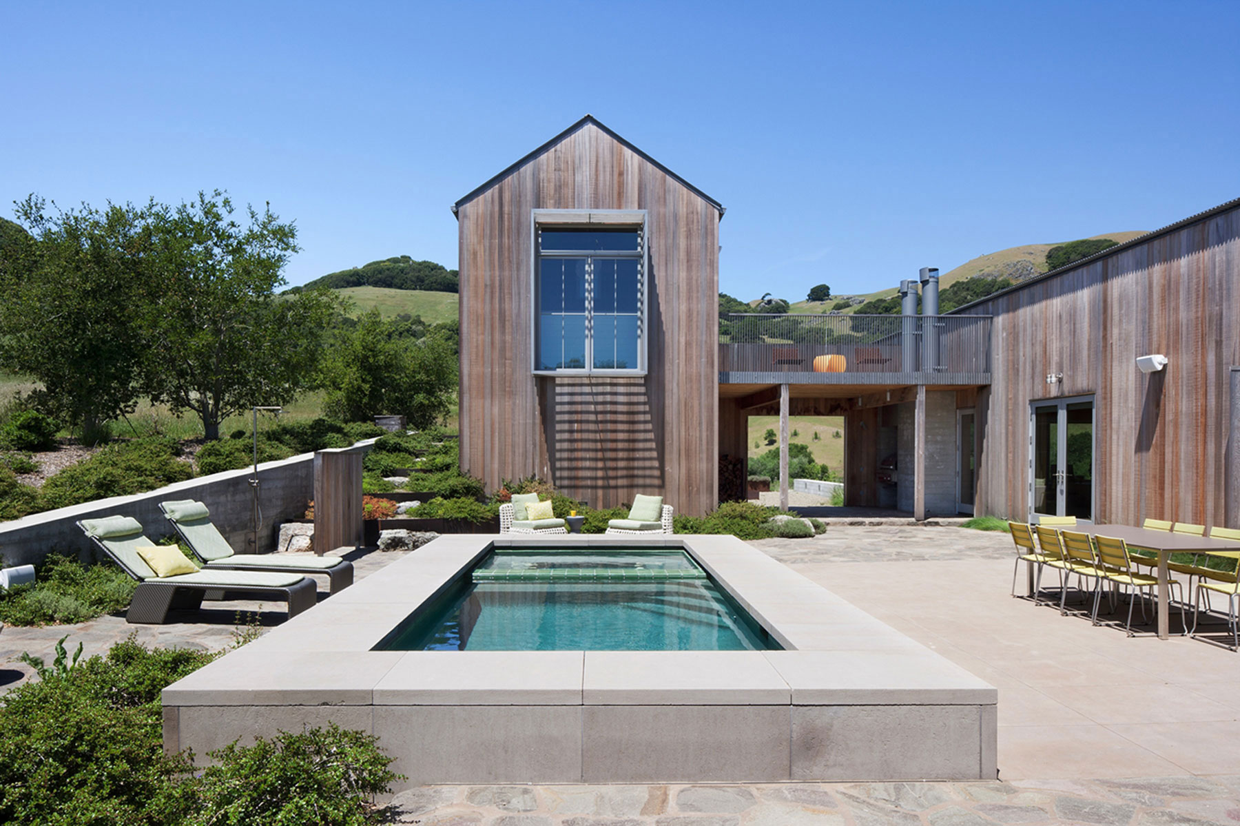 Modern ranch house designed by Turnbull-Griffin-Haesloop-Architects-3 Modern ranch house designed by Turnbull Griffin Haesloop Architects