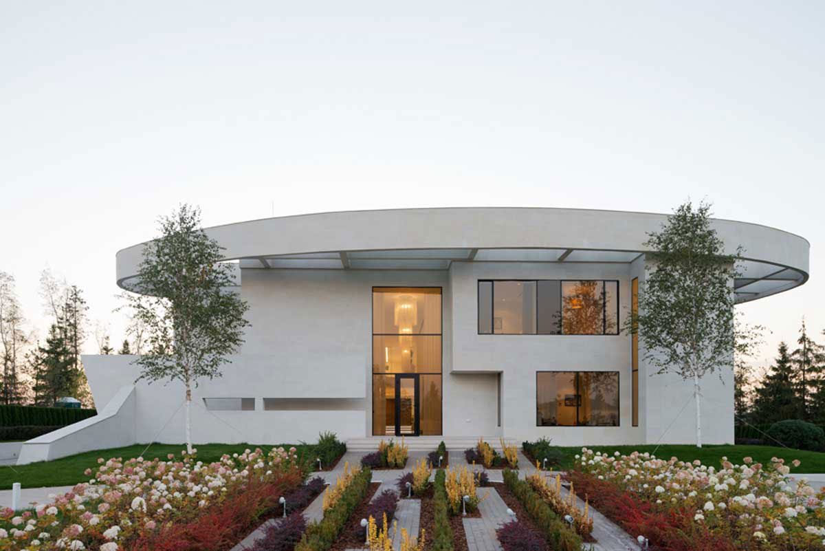 Modern villa near Moscow, designed by SL-Project-2 Modern villa near Moscow, designed by SL * Project