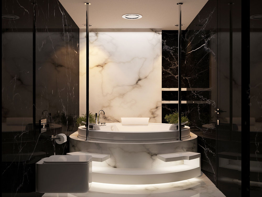Take a look at these black bathroom interiors-23 Take a look at these black bathroom interiors