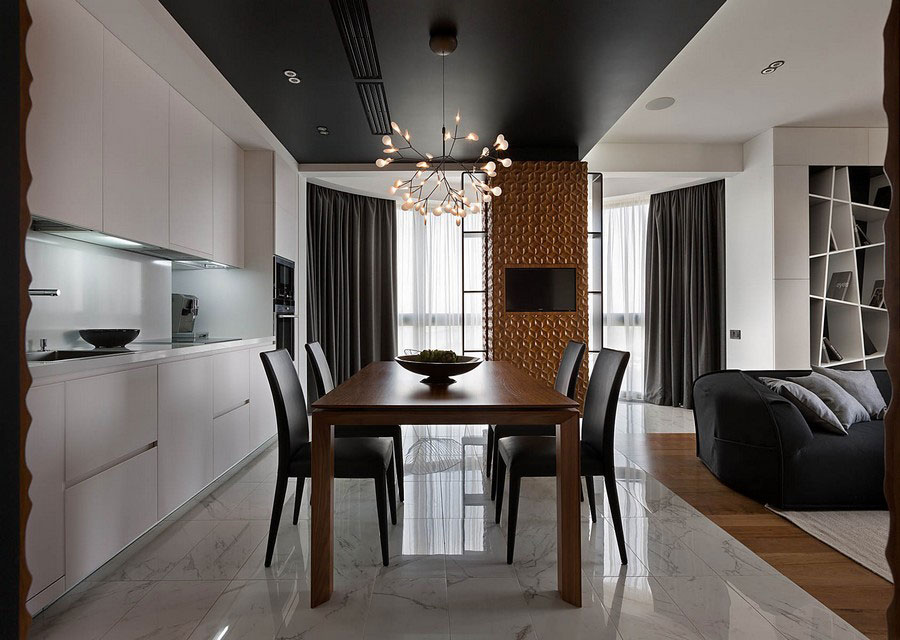 Contemporary-graphite-penthouse-designed by-Denis-Rakaev-2 Contemporary-graphite-penthouse designed by Denis Rakaev