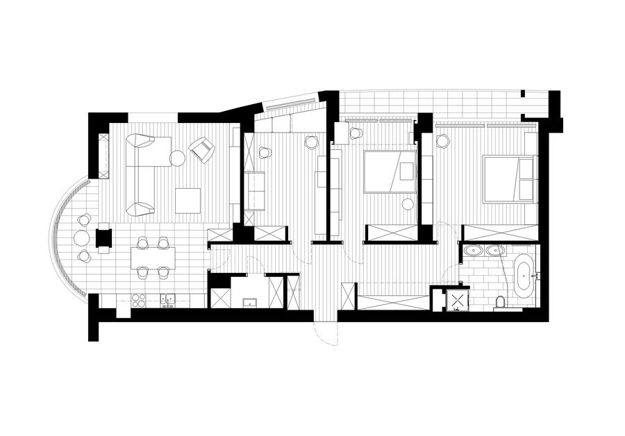 Contemporary-graphite-penthouse-designed by-Denis-Rakaev-30 Contemporary-graphite-penthouse designed by Denis Rakaev