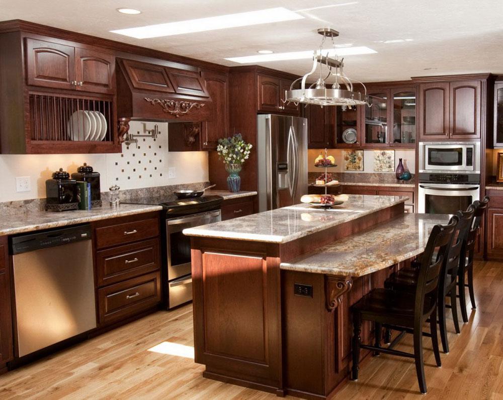 Showcase-of-the-impressive-wooden-kitchen-interior-design-6 Showcase-of the impressive-wooden-kitchen-interior-design