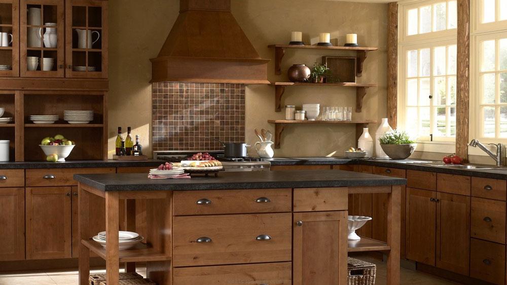 Showcase-of-the-impressive-wooden-kitchen-interior-design-5 Showcase-of the impressive-wooden-kitchen-interior-design