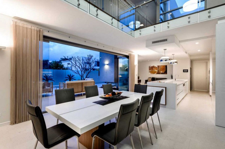 Modern house with fresh interior design and slim architecture 9 Modern house with fresh interior design and slim architecture