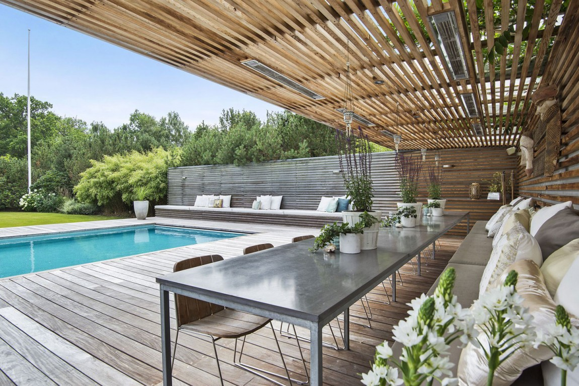 Swedish Villa-In-Saro-With-Elegant-2 Swedish Villa In Saro With Elegantly Designed Rooms