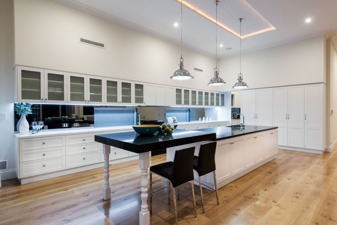 Examples-of-how-the-interior-design-of-the-kitchen-10 examples of what the interior design of the kitchen should look like
