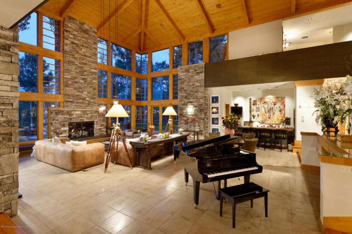 Amazingly Spacious Mountain Home in Aspen-8 Amazingly Spacious Mountain Home in Aspen