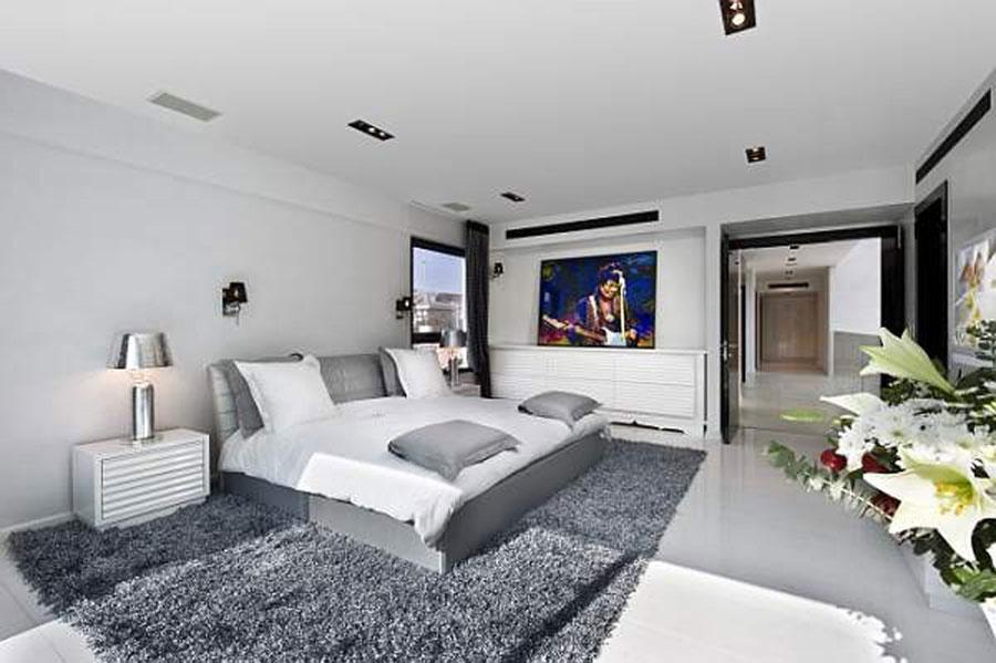 Gray Bedroom Interior Design-4 Gray bedroom interior design that looks pretty good