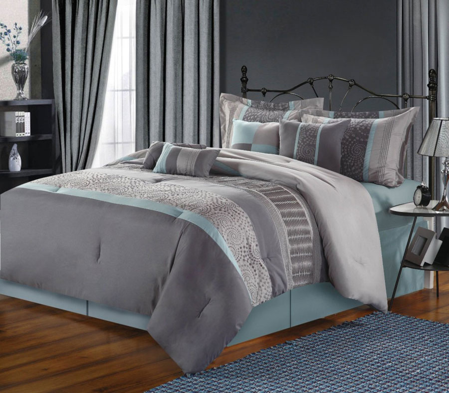 Gray Bedroom Interior Design-3 Gray bedroom interior design that looks pretty good