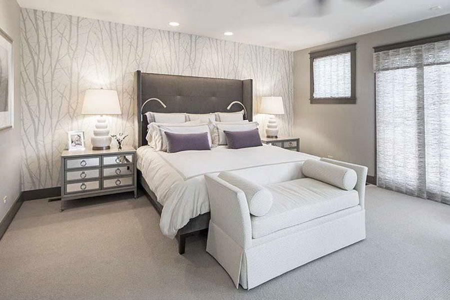 Gray Bedroom Interior Design-7 Gray bedroom interior design that looks pretty good