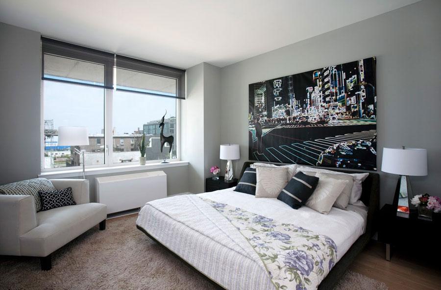 Gray Bedroom Interior Design-11 Gray bedroom interior design that looks pretty good